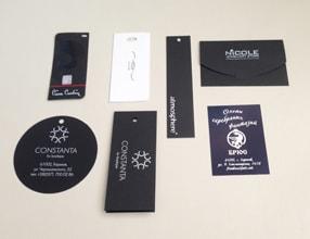 Картонні етикетки для одягу (ярлики і бирки) в друкарні LovePrint dc76b48a023c0