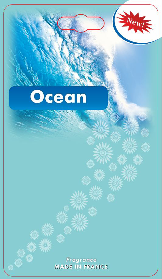 Картонна заготовка Океан
