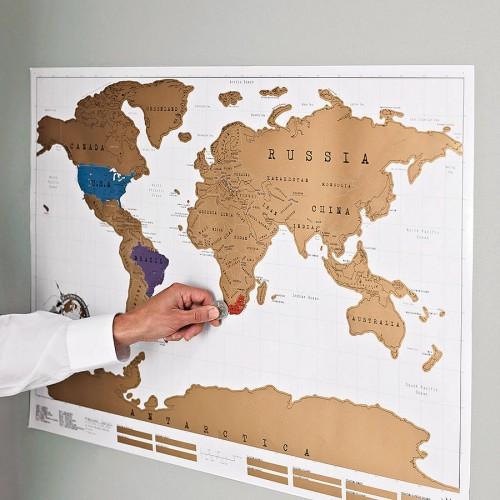Скретч-мапа
