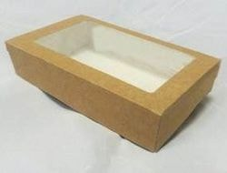 Коробка из крафт-картона