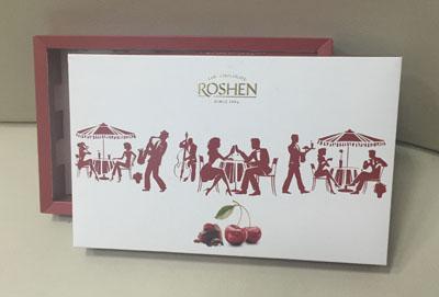 Упаковка картонная Roshen