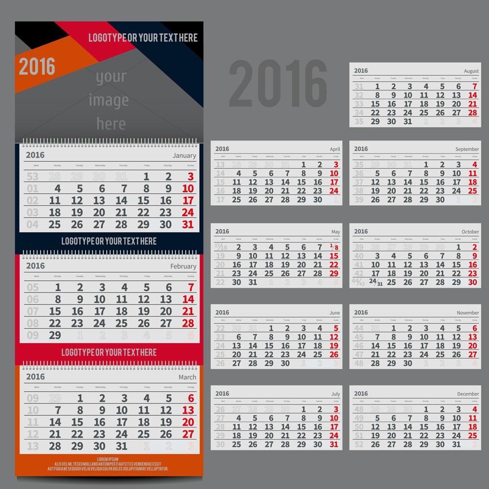 Как делать квартальные календари