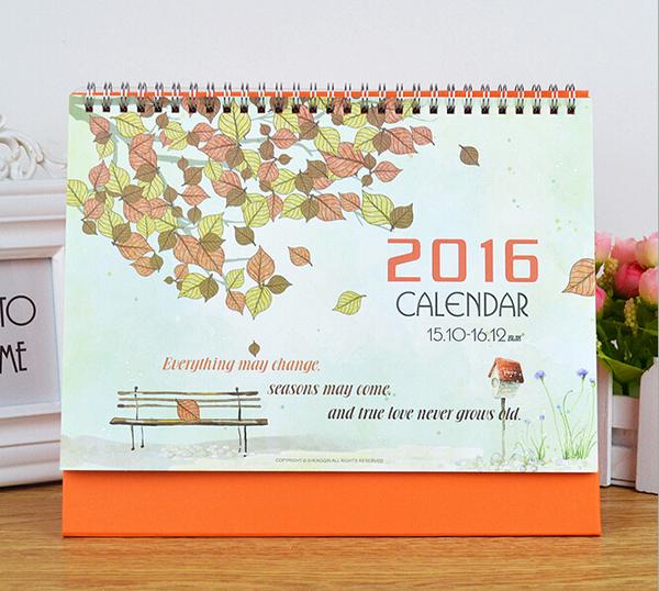 Як зробити перекидні календарі