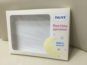коробка для детского текстиля, постельного белья
