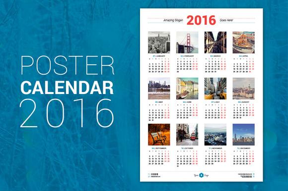 Плакатні календарі