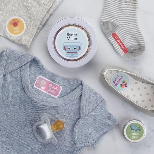 Бирки для детской одежды