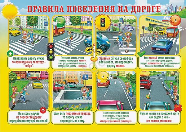 Обучающие плакаты для детей