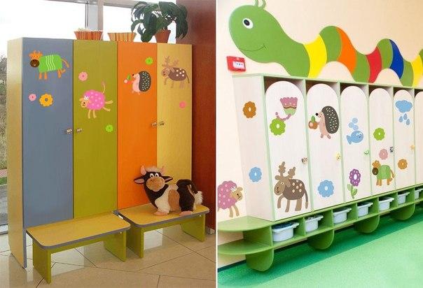 Наклейки на детские шкафчики